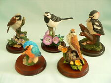 More details for small collection of 5 various bird figurines-by country artists & russell willis
