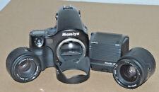 Mamiya 645AF + AF 80mm F2.8 + AF 45mm F2.8 Lenses + PhaseOne M645 digital back!