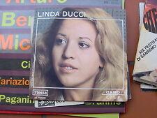"""7""""  LINDA DUCCI  CARO LILI EX++ PROMO ALLEGATO N. 5 DI NEW FIESTA"""