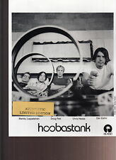 hoobastank limited edition press kit