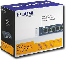 NetGear  ProSafe (GS108 v3) 8-Ports External Switch - Gigabit Desktop Switch.