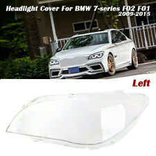 Left Headlight Lens Lampshade Replacement Cover For BMW 7 Series F01/F02 2009-15