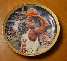 """1995 Michael Jordan Plate Collection 2Nd Issue """"The Comeback"""" Plate No. 10578B"""