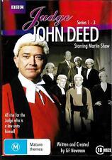 Judge John Deed (ft Martin Shaw) 10dvd boxed set- Complete Series 1 - 3 + pilot