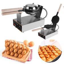 Piastra Per Bubble Waffel Wafel Waffle Gaufre Cialde Maker Antiaderente 1400W