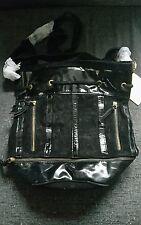 Black Leather Trim Bag Large La Redoute Creation Extension/Duffle/Duffel/NEW