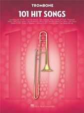 101 Hit Songs For Trombone Learn to Play POP Rock Chart Tunes Brass MUSIC BOOK
