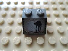 LEGO 1 x Dachstein 3039px11 alt dunkelgrau 2x2 bedr. SW AT-AT 7130