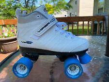 Viper M1 Roller Derby Roller Skates Size 7 White Blue Model U721W