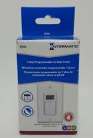 15 Amp Intermatic 7-Day Indoor In-Wall Astronomic Digital Timer, White. NIB
