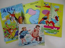 Illustrations enfantines annés 50 et 70