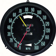 1968 Corvette 160 Mph Speedometer With Speed Warning
