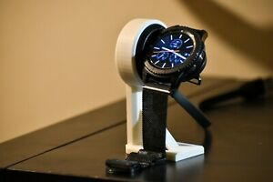Samsung Gear S3 Frontier charger mount - 3D Printed - Multiple colors available!