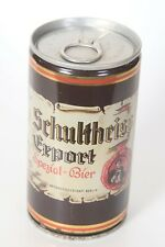 Schultheiss Export Beer Can