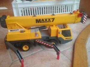 Camion grue chantier playmobil maxx7 non complet pour pieces