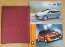 GENUINE PEUGEOT 307 SW OWNER'S MANUAL HANDBOOK WALLET 2005-2008 PACK D-700