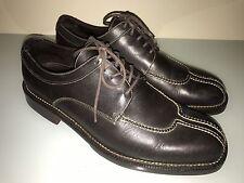 COLE HAAN Country Brazil Brown Leather Split Toe Oxfords Men's U.S.  10.5M