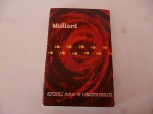 MULLARD REFERENCE MANUAL OF TRANSISTOR CIRCUITS  1961 RADIO AMPLIFIERS *AS PICS*