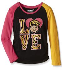 Trukfit Big Girls' Lil Tommy Love Tee, Black, Large