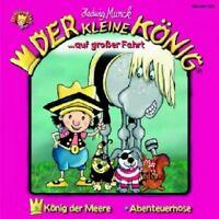 DER KLEINE KÖNIG - 04: AUF GROSSER FAHRT  CD  3 TRACKS KINDERHÖRSPIEL  NEU