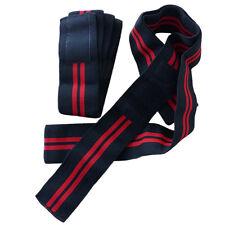 Kniebandagen black red Fitness Bodybuilding Kraftsport extrem stark 2455