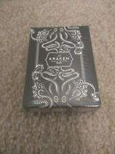 The Kraken Black Spiced Rum Authentic Playing Cards Sealed New Collectable
