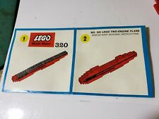 Lego Two Engine Plane 320-02 Sets Classic Vehicle Airport 30