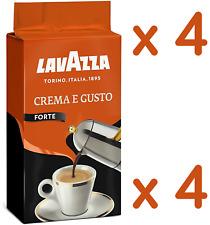 4 x 250g LAVAZZA CREMA E GUSTO FORTE STRONG Coffee ground Italian espresso caffè