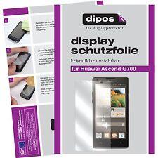 2x Huawei Ascend G700 Film de protection d'écran protecteur cristal clair