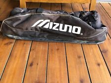 Hanging Baseball Equipment Bag Expands Pockets Zippers Tested Works Black White