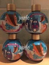 Avon FESTIVE Bath & Body Wash Merry Little Plum x2 & Jolly Holly Berry x2