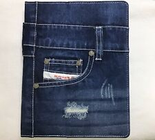 Snugg iPad 3 4 Blue Jeans Case In Distressed Denim Rare, Brand New.