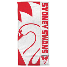 Sydney Swans Afl Beach Bath Gym Towel Fathers Day Christmas Gift