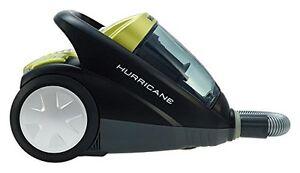 Hoover SX70_HU11001 Hurricane Power Bagless Cylinder Vacuum Cleaner Silver/Black