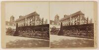 Francia Bourges,Cattedrale Saint-Etienne,Foto PL27L3n Stereo Vintage Albumina
