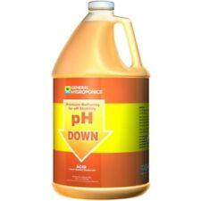 General Hydroponics pH Down 1 Gallon 128oz - Water Level Adjuster Buffer