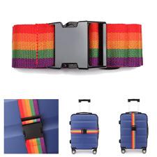 Luggage Suitcase Lock Belt Strap Travel Baggage Tie Adjustable Save Pack