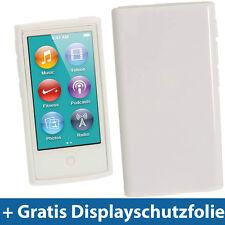 Weiß Etui TPU für Neu Apple iPod Nano 7. Gen Generation 7G 16GB Gel Tasche Hülle