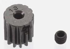 Robinson Racing 13t 0.5 Mod 2mm Black Steel Mini Pinion Gear #1813 Oz RC Models