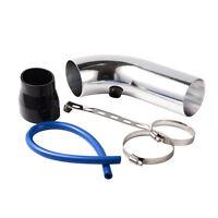 "2.5"" Universal Turbo Air Intake System Inlet Induction Hose Pipe Filter Tube Kit"