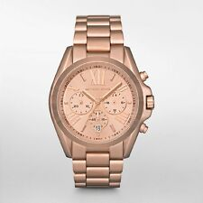 Michael Kors Uhr MK5503 BRADSHAW Damen Chronograph Edelstahl Rosegold Armbanduhr