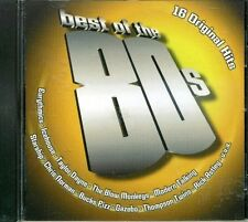 Best of the 80's (16 tracks, BMG) Eurythmics, Icehouse, Thompson Twins, R.. [CD]