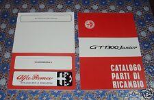 Catalogo parti di ricambio + Manuale officina carrozzeria Alfa Romeo