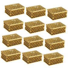 12stk. Gridding Form Pralinenschachtel Geschenkbox Süßigkeiten süße Box