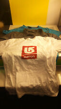 Nordica - Sunice - Burton Snowboards lot of 3 Men's LG T shirts good condition