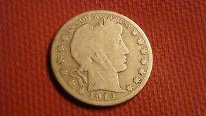 1914-P Barber Liberty Head Half Dollar (ref#1)