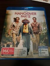 The Hangover : Part 2 (Blu-ray, 2011, 2-Disc Set) very good condition free Post
