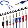 3.5mm Male To Male Aux Stereo Audio Auxiliary Cable Cord For Mobile Phone iPod