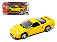 1/18 MotorMax Acura NSX Diecast Model Car Yellow 73140