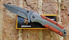 BROWNING DA 43 Folding Pocket Knife Titanium Steel Tactical IN USA Free Ship